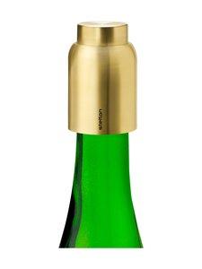 Stelton - Collar Bottle Stopper -korkki - BRASS | Stockmann