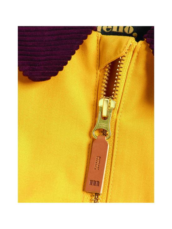 Mini Rodini - Padded Country Jacket -takki - YELLOW   Stockmann - photo 3
