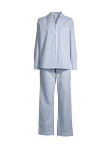NOOM loungewear - Ina-pyjama - LT.BLUE/WHITE STIRPE | Stockmann