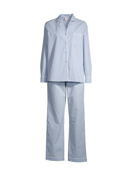 NOOM loungewear - Ina-pyjama - LT.BLUE/WHITE STIRPE | Stockmann - photo 1