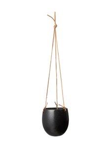 Wikholm Form - Nadia Hanging Pot -amppeli 14 x 16 cm - BLACK | Stockmann