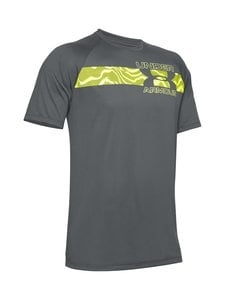 Under Armour - Tech 2.0 Graphic Short Sleeve -treenipaita - 012 PITCH GRAY | Stockmann