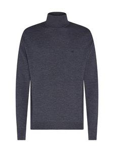 Calvin Klein Menswear - Superior Wool Turtle Neck -villaneule - DARK GREY HEATHER P4E | Stockmann