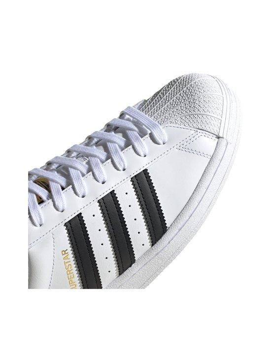 adidas Originals - Superstar-nahkatennarit - FTWWHT/CBL FTWWHT/CBLACK/FTWWHT   Stockmann - photo 8