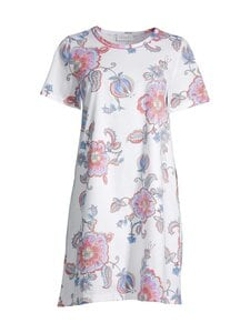 Damella - Flower-yöpaita - 001 001 WHITE | Stockmann