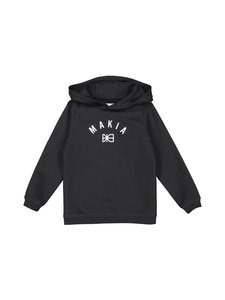 Makia - Brand Hooded Sweatshirt -collegepaita - BLACK | Stockmann