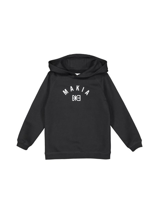 Makia - Brand Hooded Sweatshirt -collegepaita - BLACK | Stockmann - photo 1