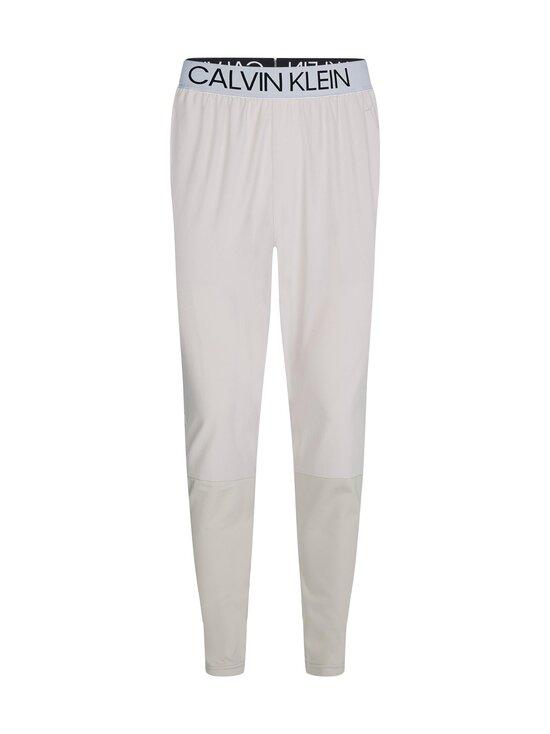 Calvin Klein Performance - Mix Fabric Pant -housut - GREY   Stockmann - photo 1