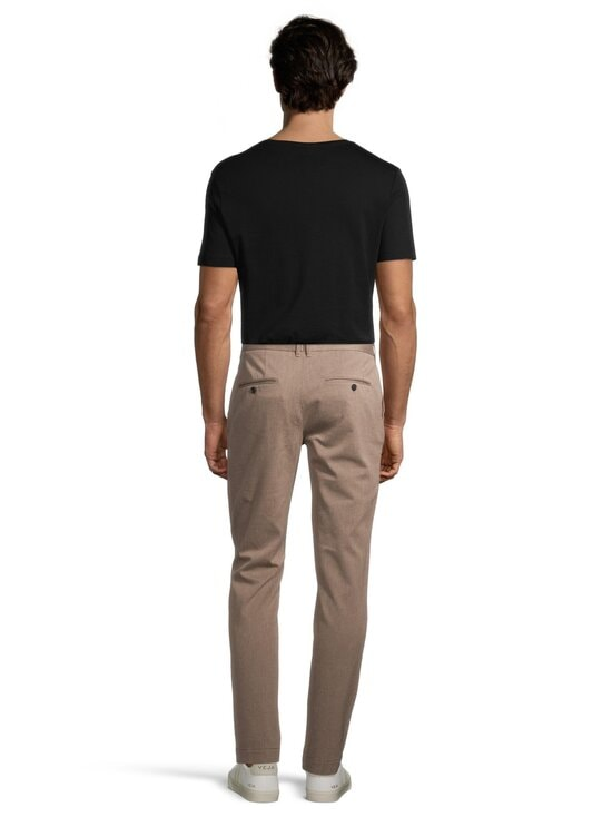 J.Lindeberg - Chaze Flannel Twill Pants -housut - E246 WOOD BROWN | Stockmann - photo 3