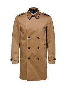 Selected - SlhSander DB Coat -takki - PETRIFIED OAK | Stockmann
