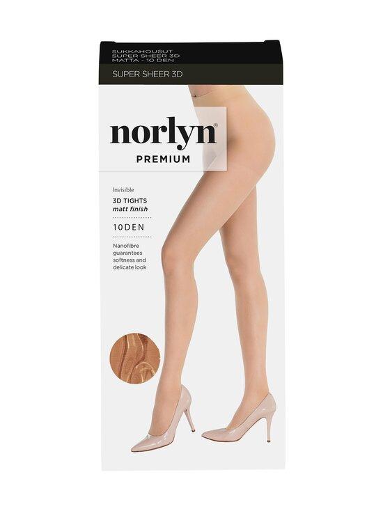Norlyn - Premium Super Sheer 3D 10 den -sukkahousut - POWDER   Stockmann - photo 1