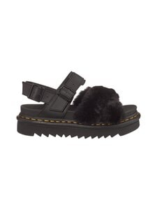 Dr. Martens - Voss 2 Fluffy -sandaalit - BLACK   Stockmann