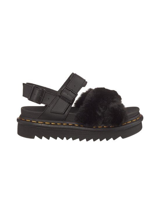 Dr. Martens - Voss 2 Fluffy -sandaalit - BLACK | Stockmann - photo 1