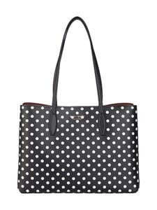 kate spade new york - All Day Lady Dot Large Tote -laukku - BLACK MULTI | Stockmann