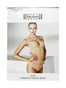 Wolford - Tulle Forming String -body - NUDE | Stockmann