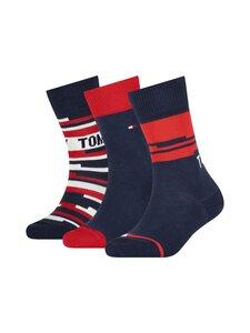 Tommy Hilfiger - TH KIDS SOCK -3 kpl nilkkasukat lahjapakkaus - 001 TOMMY ORIGINAL | Stockmann