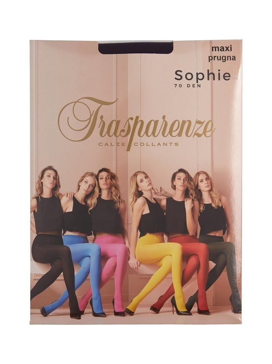 Trasparenze - Sophie 70 den -sukkahousut - PRUGNA | Stockmann - photo 2