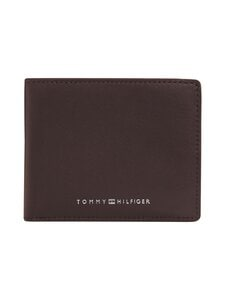 Tommy Hilfiger - TH Metro Mini CC Wallet -nahkalompakko - 0HF TESTA DI MORO | Stockmann