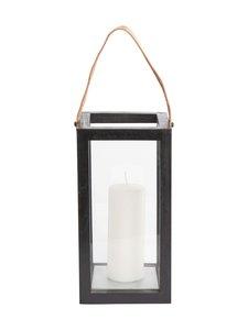 Muubs - Lantern S -lyhty 16 x 32 x 16 cm - BLACK | Stockmann