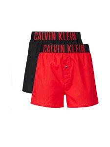 Calvin Klein Underwear - Slim-bokserit 2-pack - 9JQ RUDY/BLACK | Stockmann