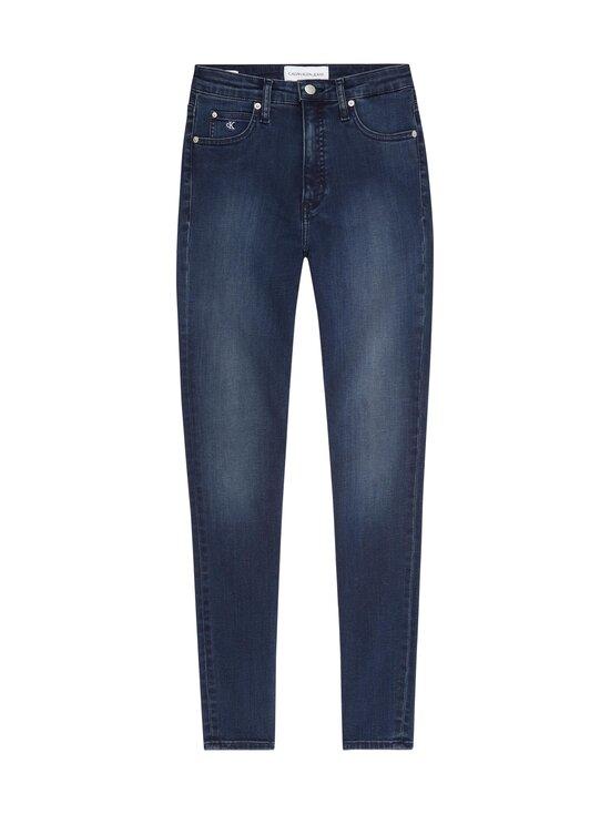 Calvin Klein Jeans - High Rise Super Skinny Ankle -farkut - 1BJ DENIM DARK | Stockmann - photo 1