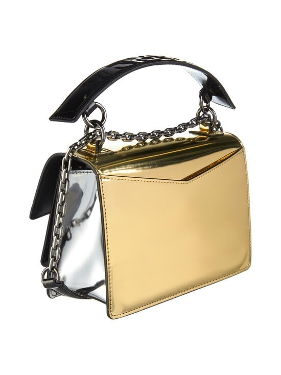 Karl Lagerfeld - K/Karl Seven Mirror-Effect Shoulder Bag -nahkalaukku - 290 SILVER | Stockmann - photo 2