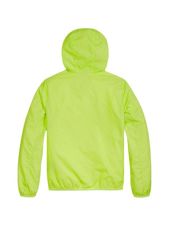 Tommy Hilfiger - Essential Hooded Logo Jacket -takki - LT4 SOUR LIME | Stockmann - photo 2