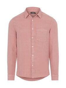 J.Lindeberg - Comfort Tencel Slim Shirt -kauluspaita - G020 ROSE COPPAR | Stockmann