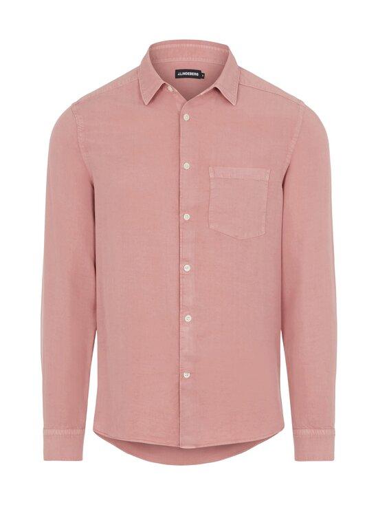 J.Lindeberg - Comfort Tencel Slim Shirt -kauluspaita - G020 ROSE COPPAR   Stockmann - photo 1