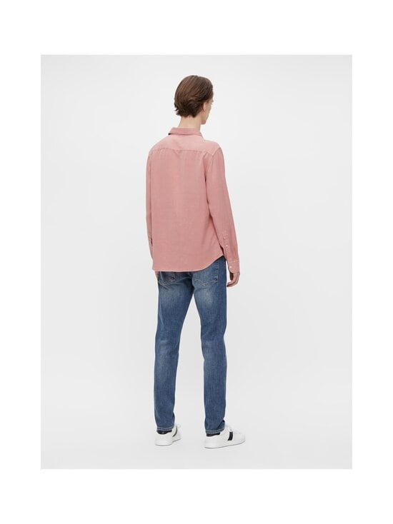 J.Lindeberg - Comfort Tencel Slim Shirt -kauluspaita - G020 ROSE COPPAR   Stockmann - photo 5