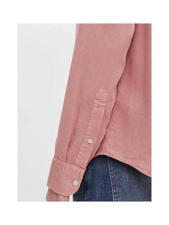 J.Lindeberg - Comfort Tencel Slim Shirt -kauluspaita - G020 ROSE COPPAR   Stockmann - photo 7