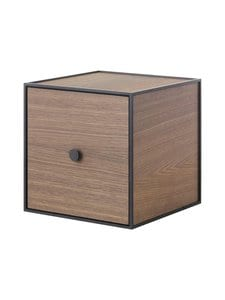 By Lassen - Frame 28 -laatikko + ovi - SMOKED OAK (VAALEANRUSKEA) | Stockmann
