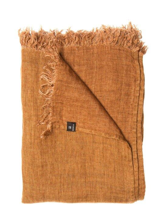 Himla - Hannelin-pellavahuopa 130 x 170 cm - SIENNA/AMBER | Stockmann - photo 1