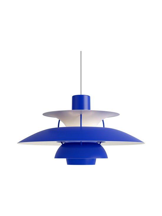 Louis Poulsen - PH 5 -riippuvalaisin 500 x 267 mm - MONOCHROME BLUE | Stockmann - photo 1