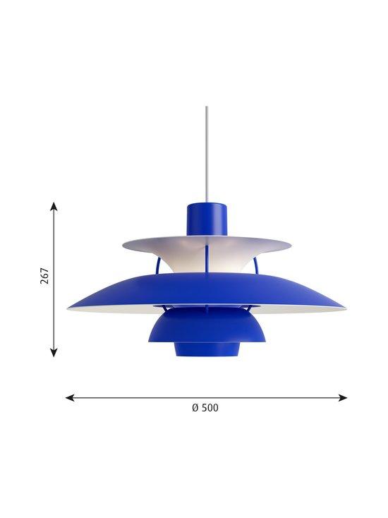 Louis Poulsen - PH 5 -riippuvalaisin 500 x 267 mm - MONOCHROME BLUE | Stockmann - photo 2