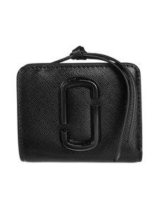 Marc Jacobs - Snapshot Mini Compact -nahkalompakko - BLACK | Stockmann