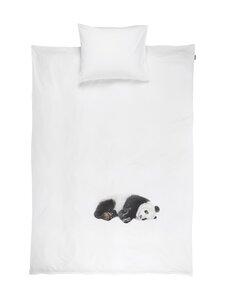 Snurk - Lazy Panda -pussilakanasetti 150 x 210 + 50 x 60 cm - WHITE | Stockmann
