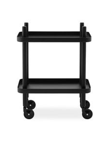 Normann Copenhagen - Block-pöytä 64 x 50 x 35 cm - BLACK/BLACK   Stockmann