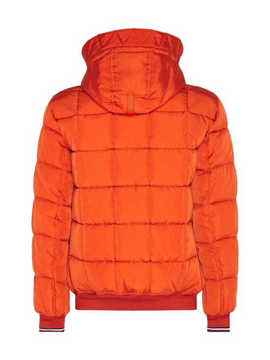 Tommy Hilfiger - Rope Dye Quilted Hooded Bomber -takki - SNC TUCSON ORANGE | Stockmann - photo 2