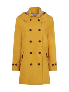 Save The Duck - Grin Brooke trench coat w hoodLC03/21 -takki - 60000 OCHRE YELLOW | Stockmann