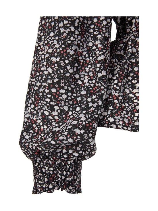 Neo Noir - Ora Blush Flower Blouse -pusero - 100 BLACK | Stockmann - photo 3