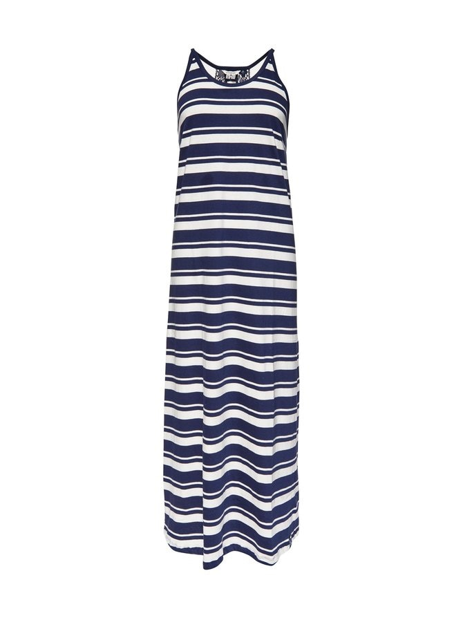 Summer Stripe Maxi -mekko