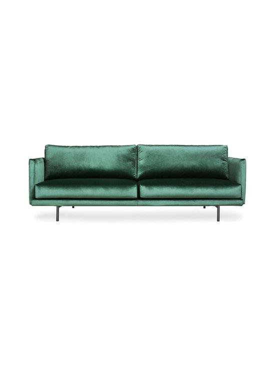 Hakola - Lazy Velvet -sohva - TUMMANVIHREÄ | Stockmann - photo 1