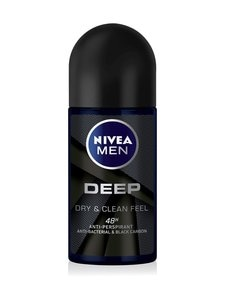 NIVEA MEN - Deep Deo Roll-On -antiperspirantti 50 ml | Stockmann