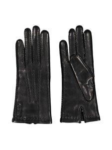 Hestra - Mary-nahkakäsineet - 100 BLACK | Stockmann