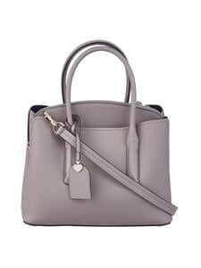 kate spade new york - Margaux Medium Satchel -nahkalaukku - TRUE TAUPE | Stockmann