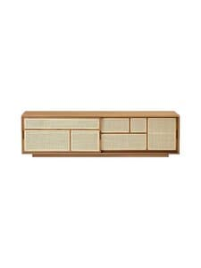 Design House Stockholm - Air-tv-taso 180 x 38 x 50 cm - OAK | Stockmann
