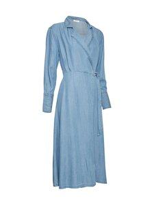 Moss Copenhagen - Philippa LS Wrap Dress -mekko - L BLUE WASH | Stockmann