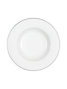 Villeroy & Boch - Anmut Platinum No.1 -syvä lautanen 24 cm - WHITE | Stockmann