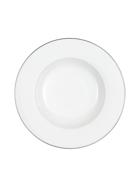 Villeroy & Boch - Anmut Platinum No.1 -syvä lautanen 24 cm - WHITE | Stockmann - photo 1